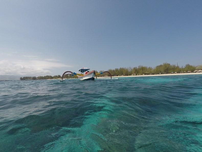 snorkelen rond de Gili eilanden - boottochten
