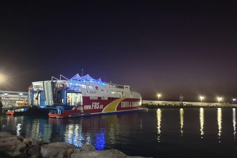 Boot Marokko naar Spanje