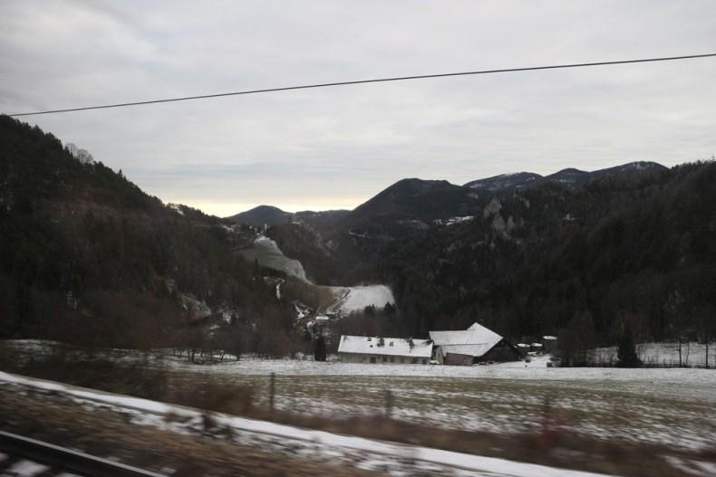 Trein van Wenen naar Spital am Semmering
