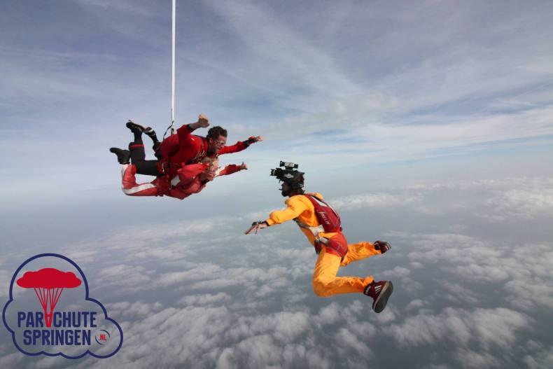 Parachute springen op Texel