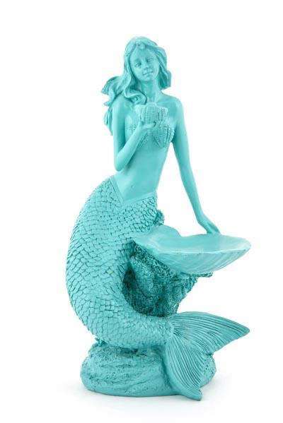 Mermaid With Sea Shell Globe Imports