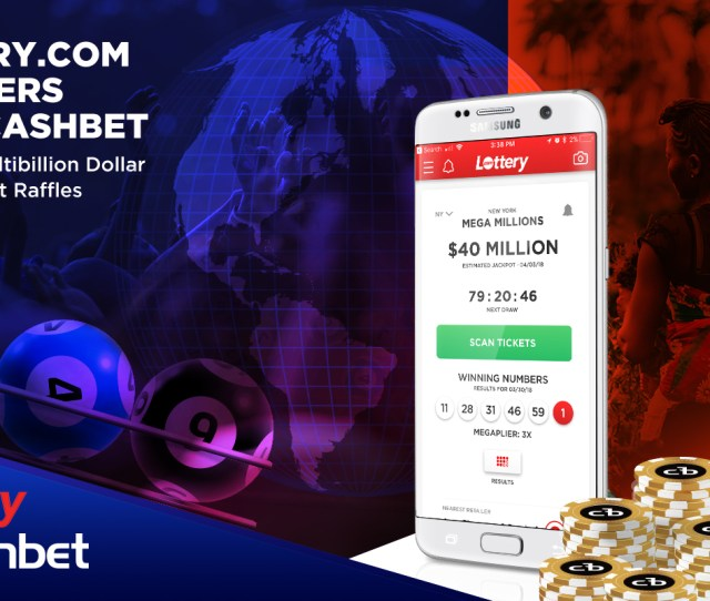 Lottery Com Partners With Cashbet To Power Multibillion Dollar