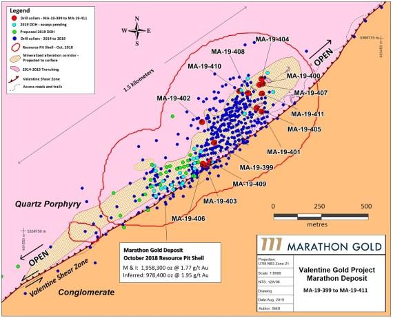 September 3rd, 2019 Drill Map