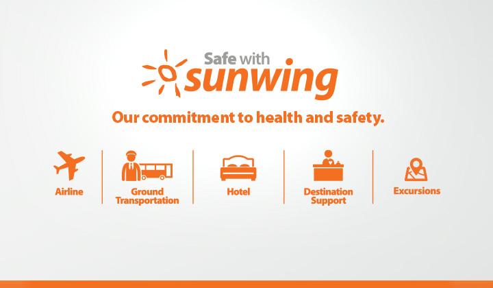 Safe with Sunwing