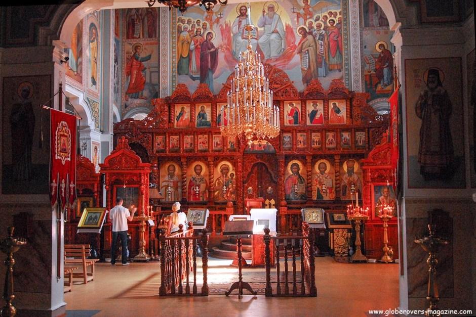 St Nicholas Cathedral, Almaty, Kazakhstan