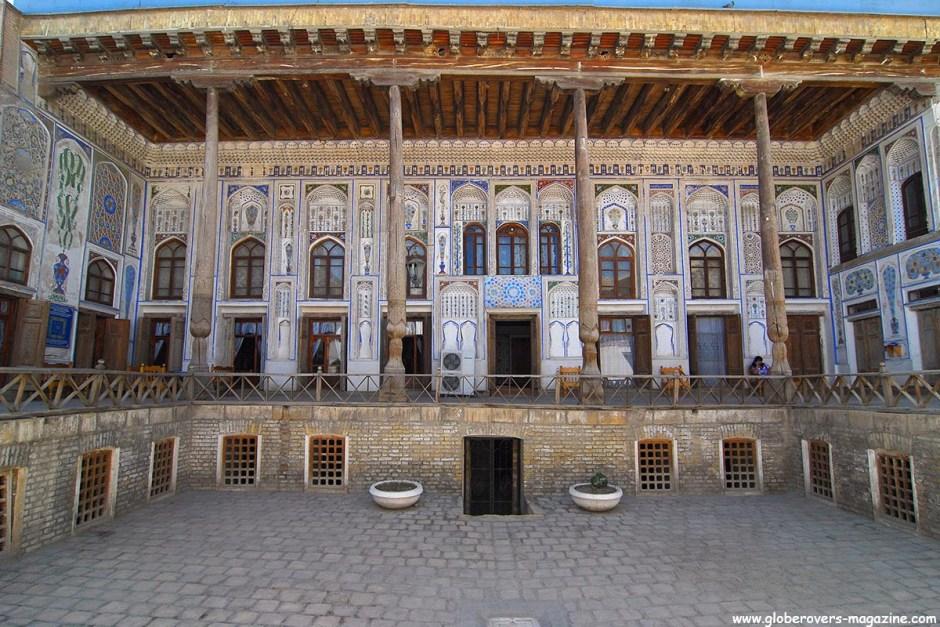 Fayzulla Khojaev House, Bukhara, Uzbekistan