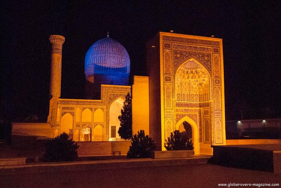 Gur-e-Amir Mausoleum, Samarkand, Uzbekistan