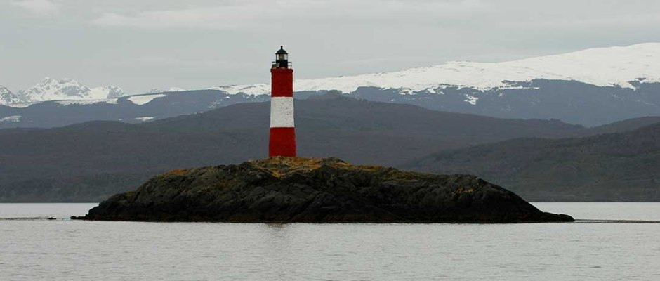 Lighthouse, Beagle Channel, Ushuaia, Argentina