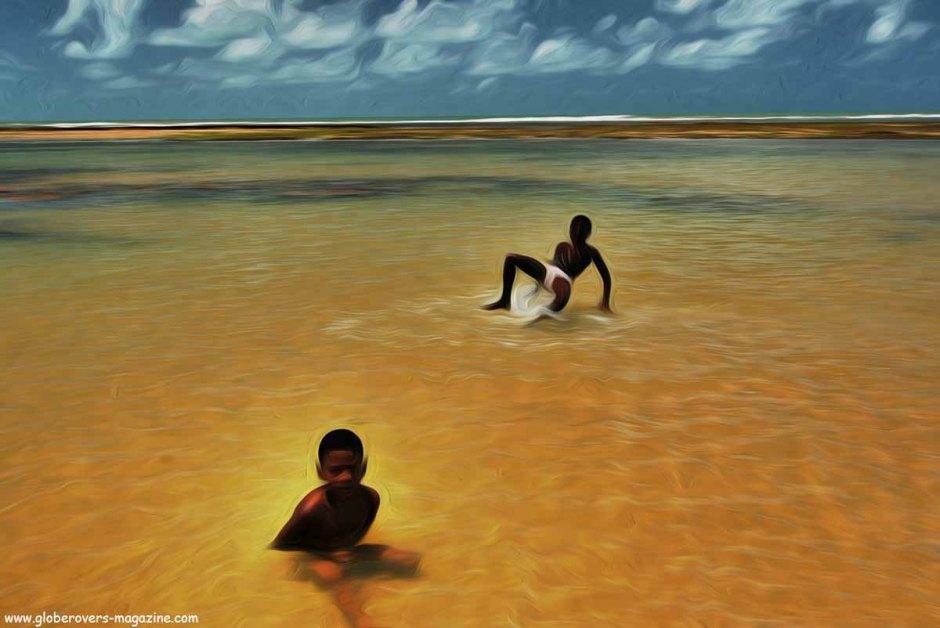 Brazil boys, Beach Near Arraial D´Ajuda, Brazil