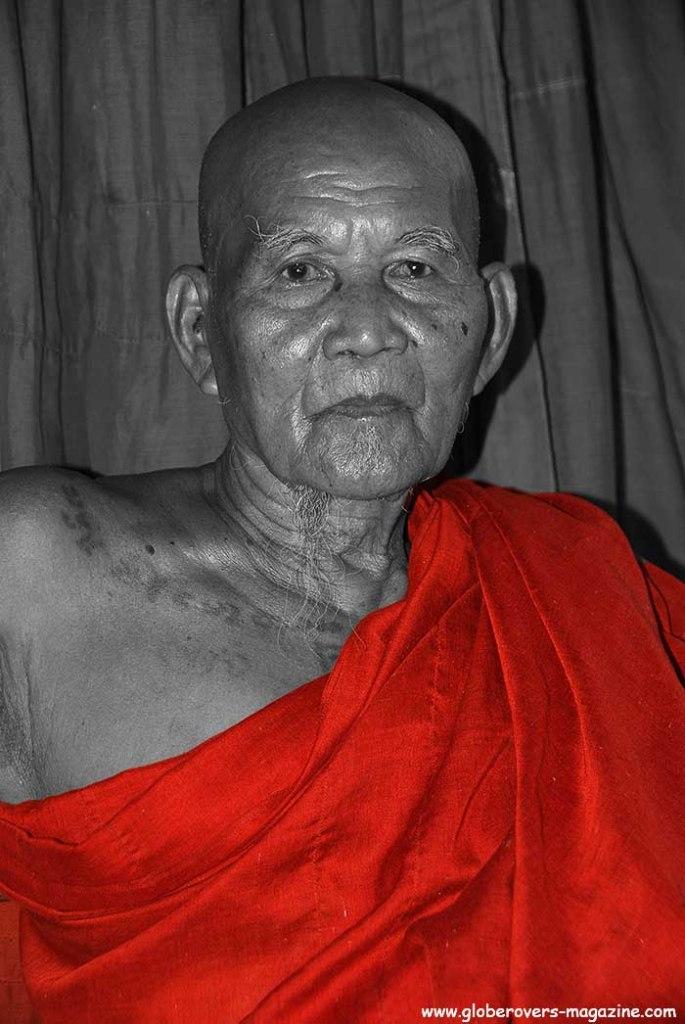 ShweGule Maha Paduma Teaching Monastery, Bago, Myanmar, monks