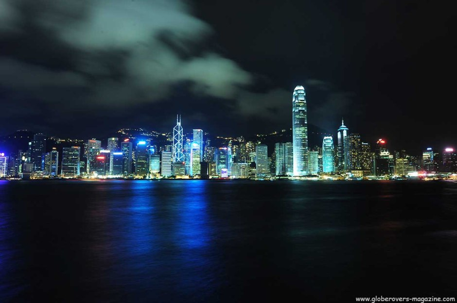 Hong Kong Island viewed from the Kowloon side
