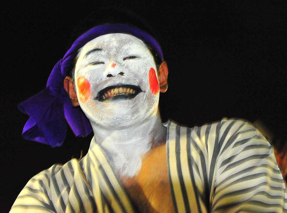 Portraits - Clown at Defence Force Festival, Okinawa, Japan