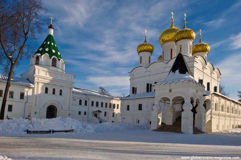 St. Ipaty Monastery, Kostroma, Russia