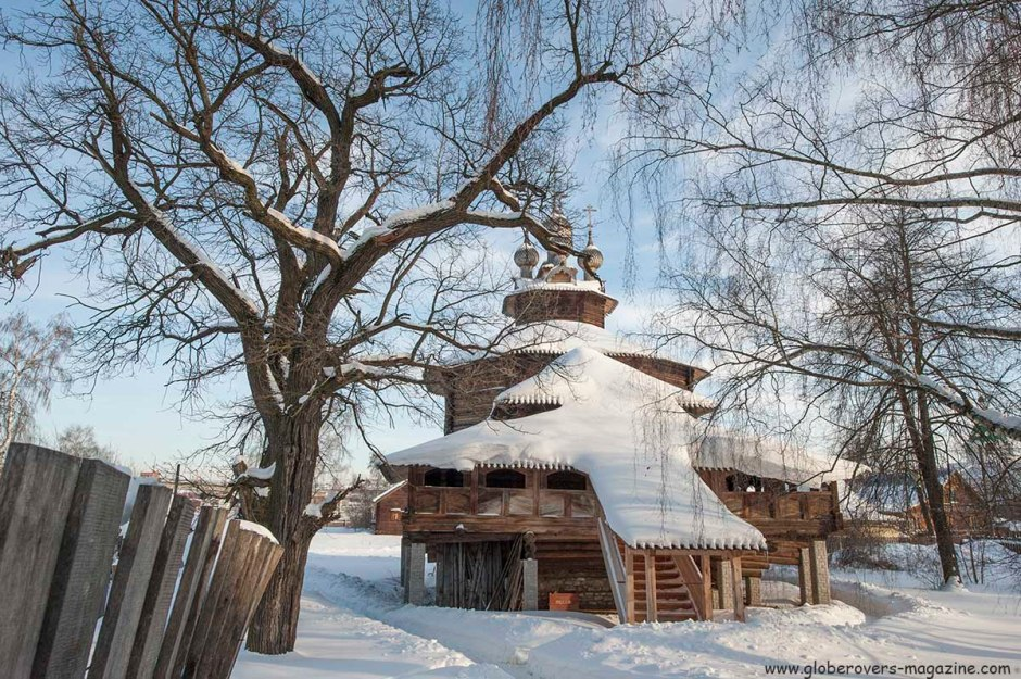 The wooden Church of the Theotokos Cathedral, Kostroma, Russia