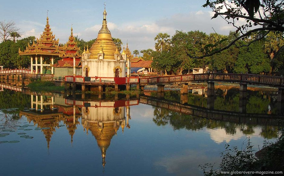 ShweGule Maha Paduma Teaching Monastery, Bago, Myanmar