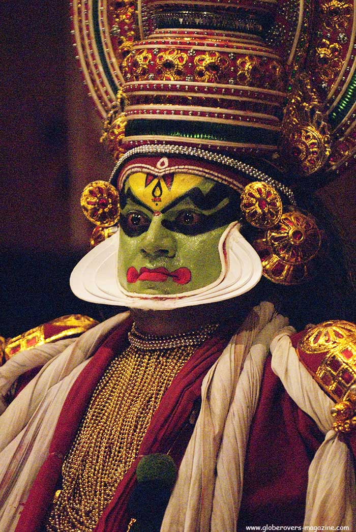 Kathakali dance performance, Kochi, Kerala, INDIA