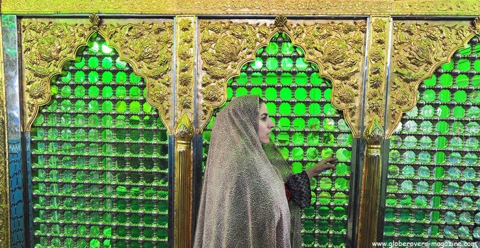 Mausoleum at the Hammam-e Sultan Amir Ahmad, Kashan, IRAN