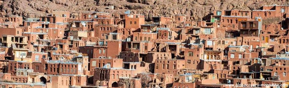 Village of Abyaneh near Kashan, IRAN