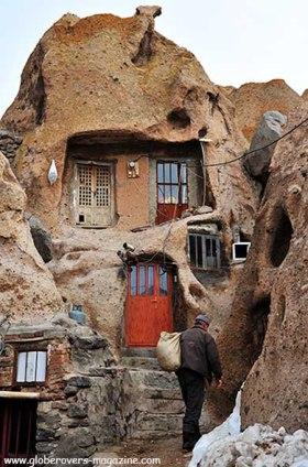 Kandovan near Tabriz, IRAN