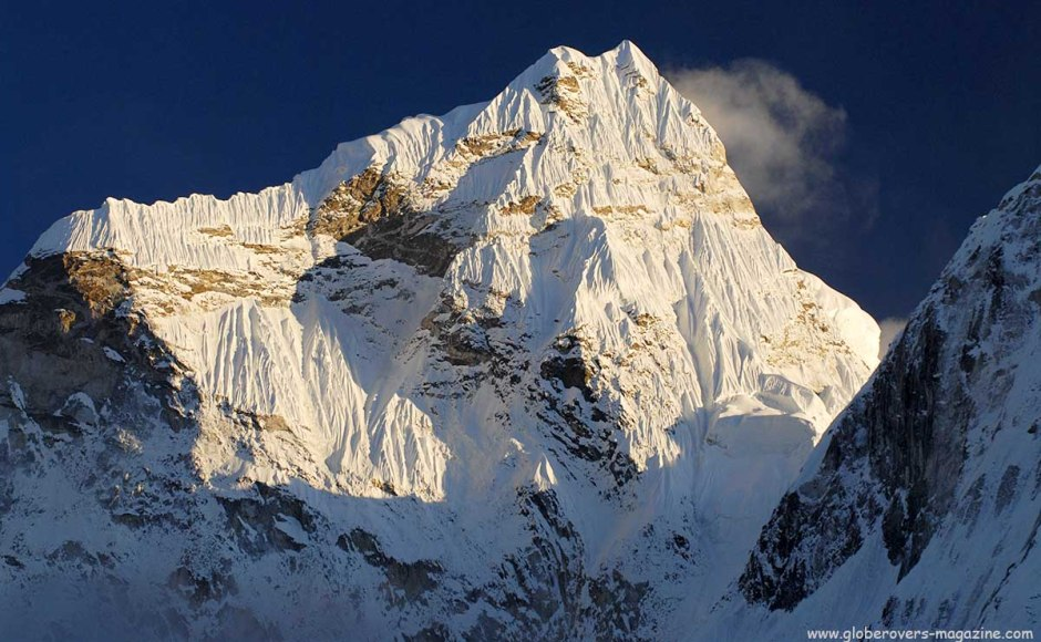 Ama Dablam from Dingboche, Himalayas, Nepal