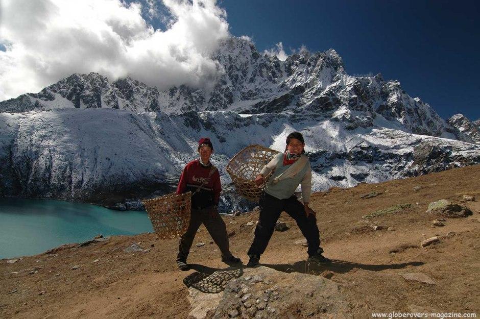 Dudh Pokhari (the third Gokyo lake, Around Gokyo Ri, Himalayas, Nepal