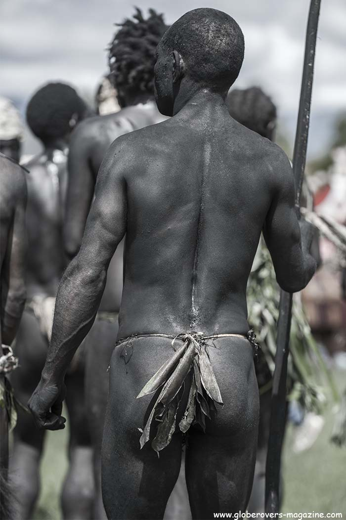 Junife Group, Henganofi district, E.H.P, Singsing Group, 2014 Goroka Festival. Papua New Guinea