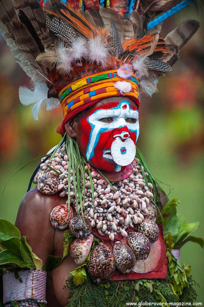 Keltigassg Singsing Group, Mount Hagen, 2014 Goroka Festival, Papua New Guinea