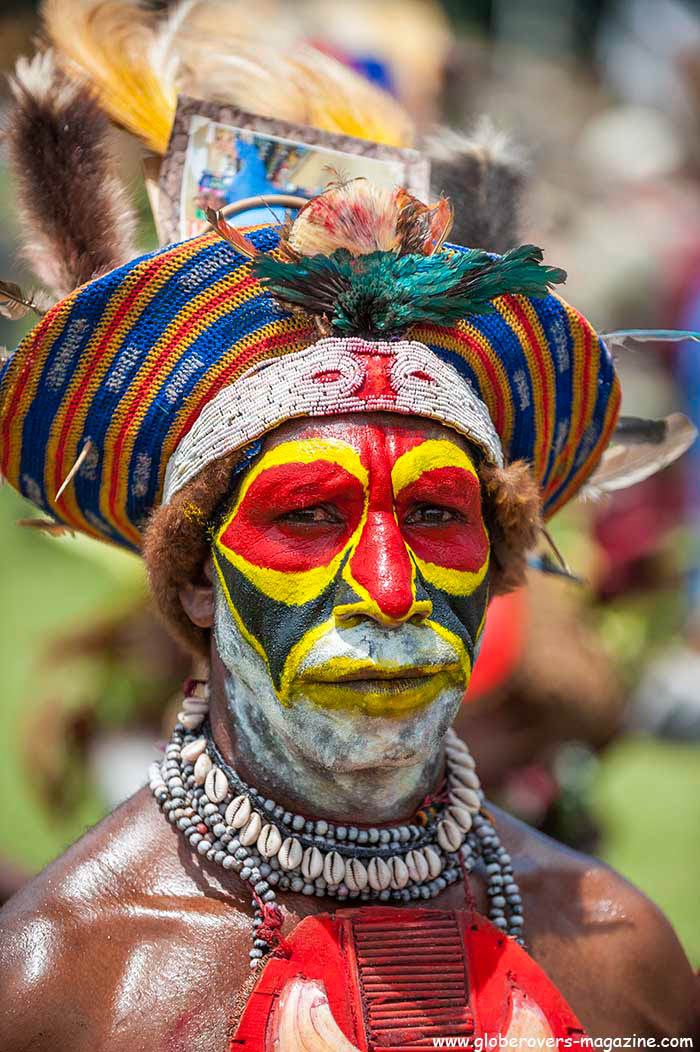 Kund Singsing Group, 2014 Goroka Festival. Papua New Guinea PNG