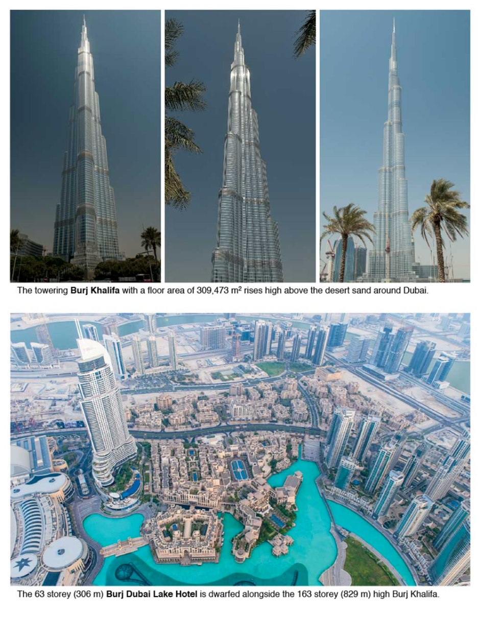"Dubai is one of the seven emirates that make up the United Arab Emirates (UAE) and currently lays claim to having the ""world's tallest building""."