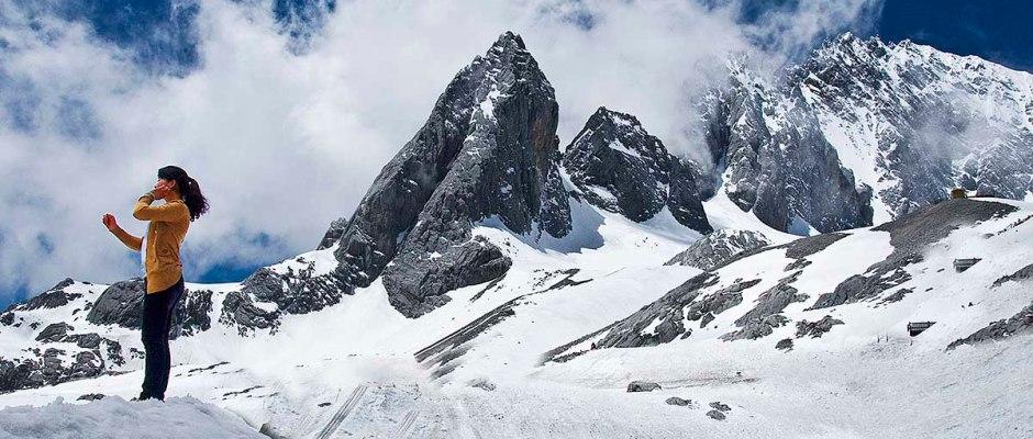 Jade Dragon Snow Mountain (Yulong Mountain), Yunnan, CHINA