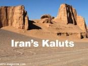 The Kaluts, Kerman province, IRAN