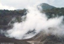 volcanoes of hokkaido in japan