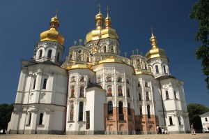 Cathedral of the Dormition, Monastery of the Caves (Kiev Pechersk Lavra), Kiev, Ukraine