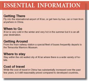 Xian Essentials