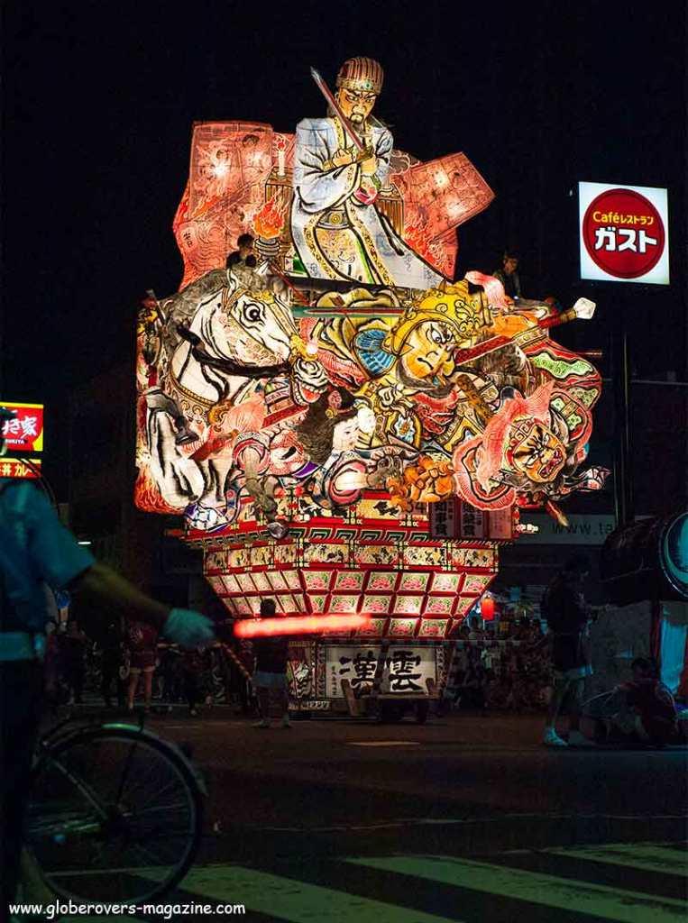 Hirosaki Neputa Festival, Hirosaki, Tohoku Region, Japan