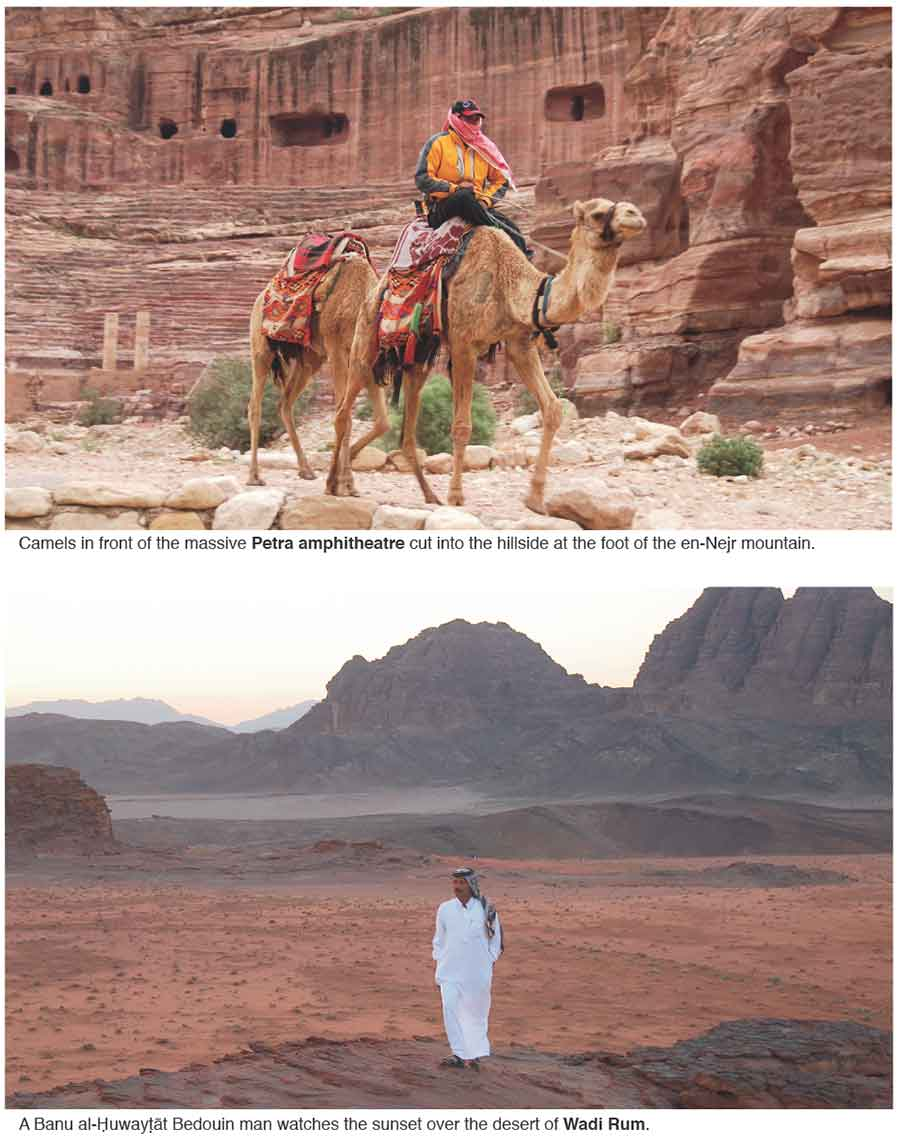 Wadi Rum Petra city Jordan
