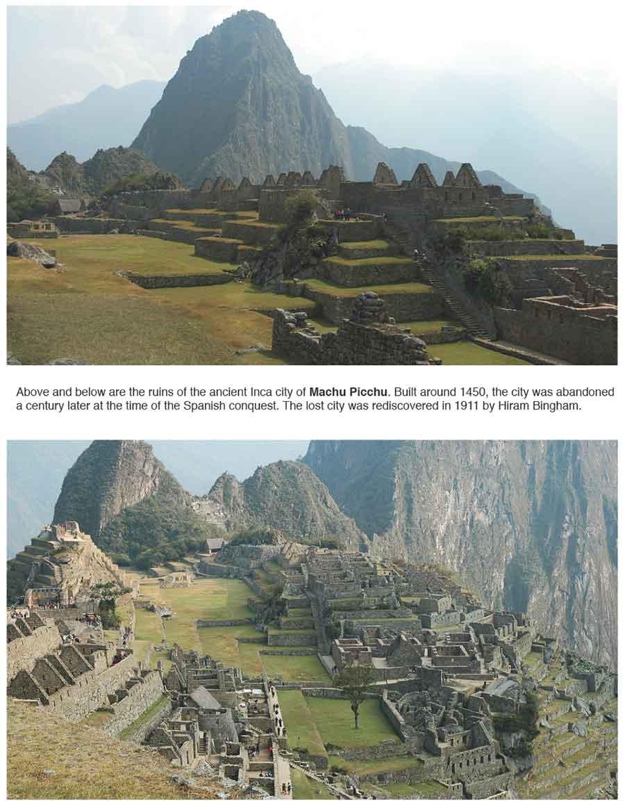 Machu Picchu Ruins of Peru