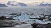 Jökulsárlón glacial lake, Situated at the head of the Breiðamerkurjökull glacier, Iceland