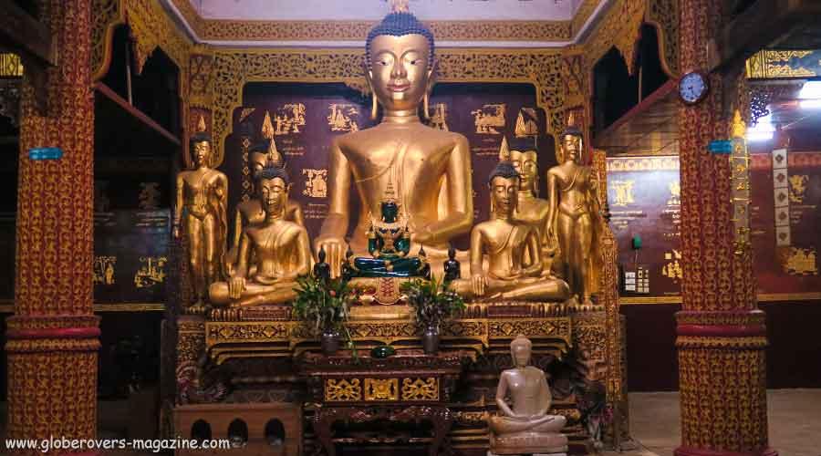 The Maha Myat Muni pagoda