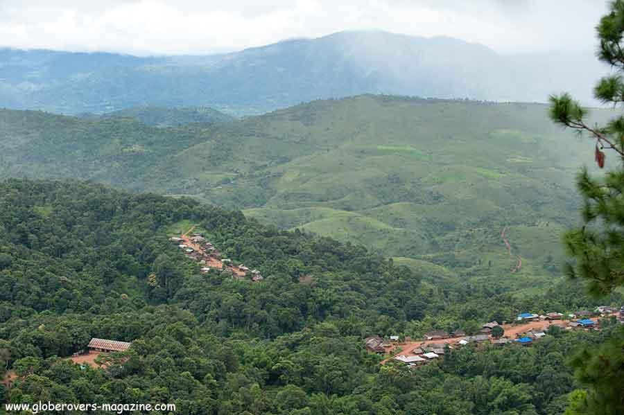 Ho Kyein Htet Akha villages