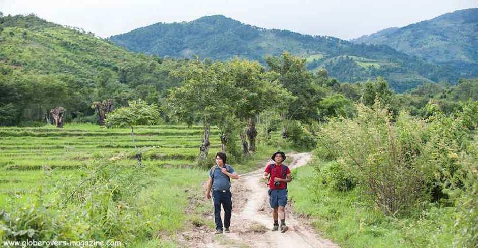Hiking around Shan State