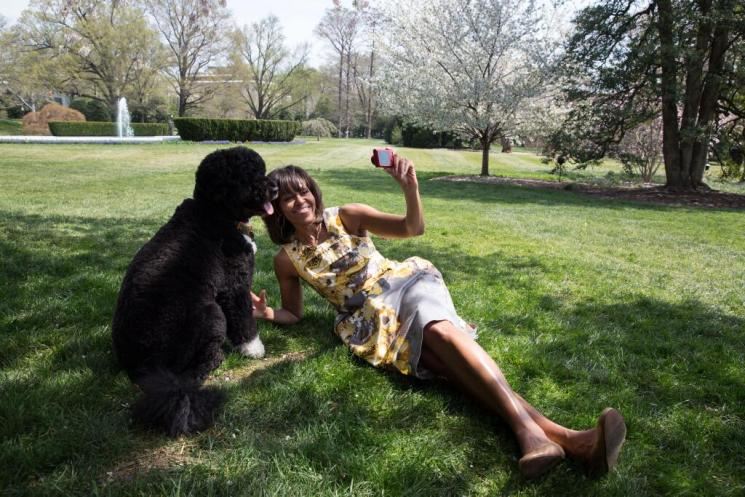 Michelle Obama Selfie