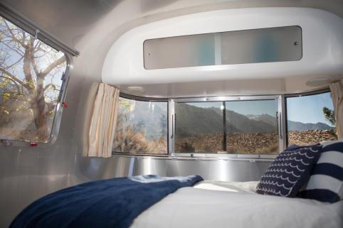 Schlafraum Airstream Trailer USA