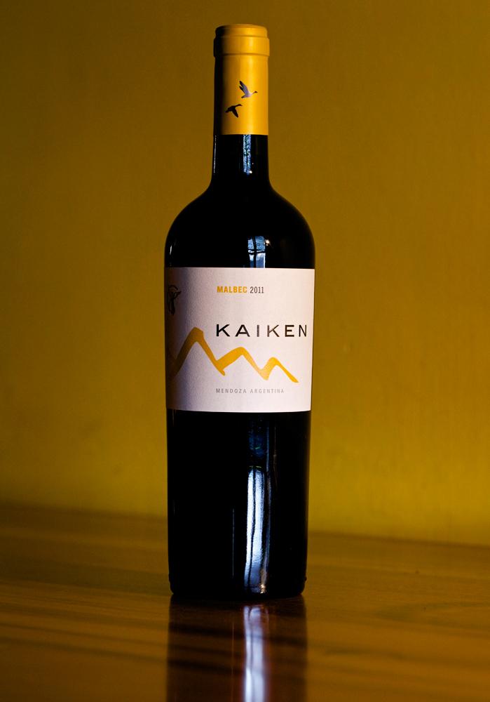 Kaiken-Malbec-Weinflasche