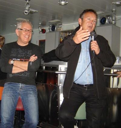 Röbi Koller und Thomas Bucheli