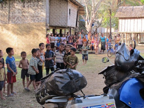 Laos Motorradreise Thierry Wilhelm