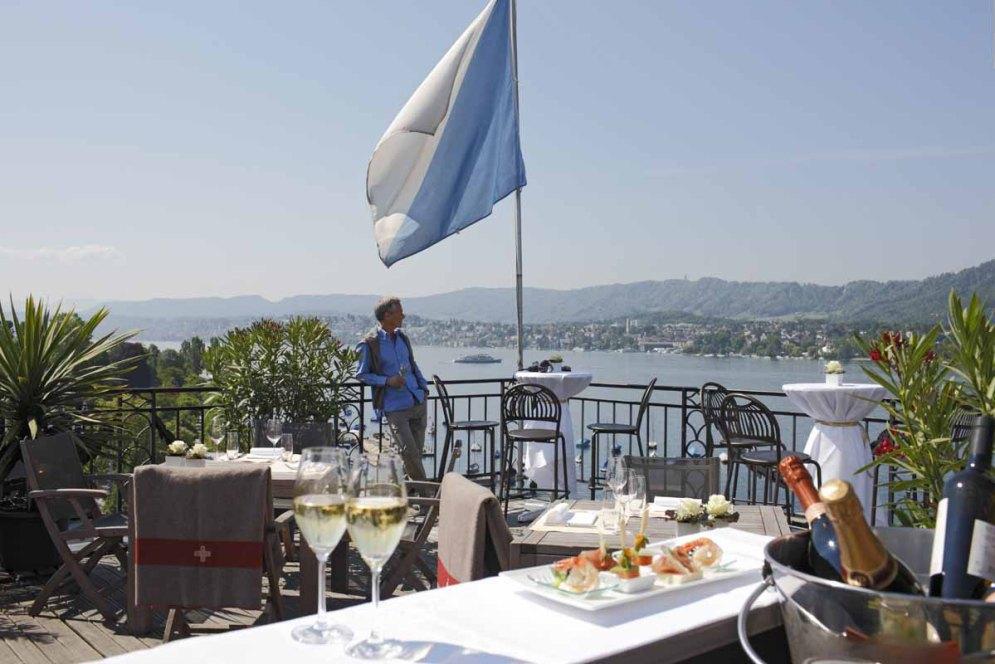Sky Bar Hotel Eden au Lac Zürich