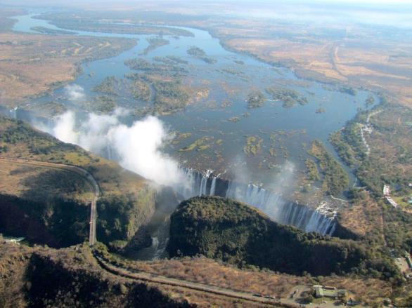 Roadtrip-Zimbabwe-Afrika-Victoria Wasserfälle