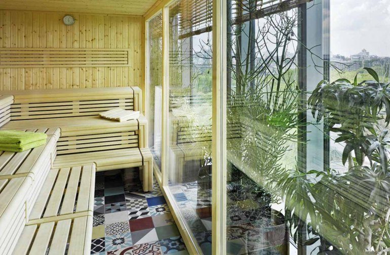 25hours Hotel Bikini Berlin: Jungle Sauna