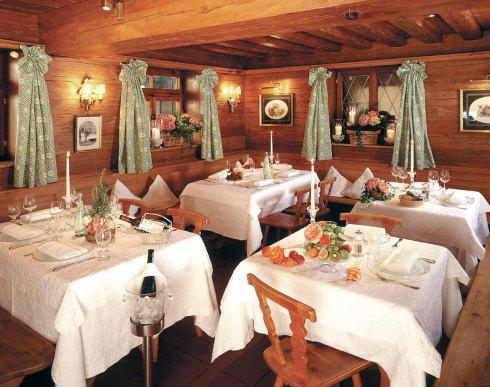 Das Restaurant des Freihaus Brenner